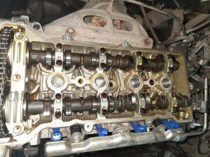 Двигатель на Toyota Avensis ZZT251 1ZZ-FE