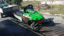 горный ARCTIC CAT m7 2005