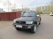 TOYOTA LAND CRUISER 105 2001 года