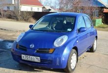 NISSAN MARCH 2002 года