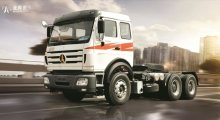Тягач Beifang Benchi 2538ASZ (North Benz) 6x6