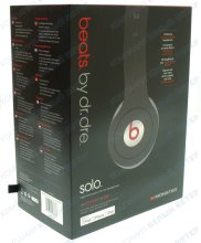 Наушники Monster Beats by Dr. Dre Solo White/Black JustBeats High Performance Headphones