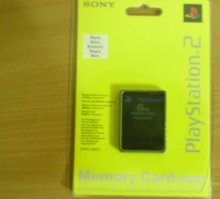 Memory Card 8 MB sony PlayStation 2