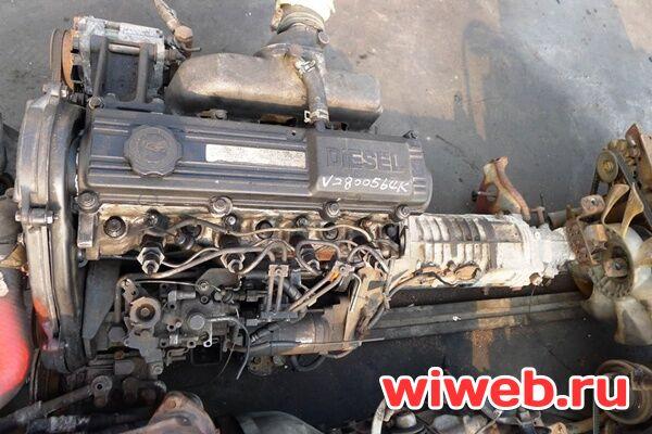 дизельные двигатели мазда бонгоr2