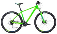 ВЕЛОСИПЕД 29 CUBE AIM SL DISC 2015 GREEN BLUE