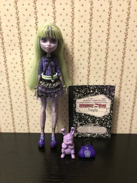 Куклы монстер хай, monster high doll Твайла Бугимен