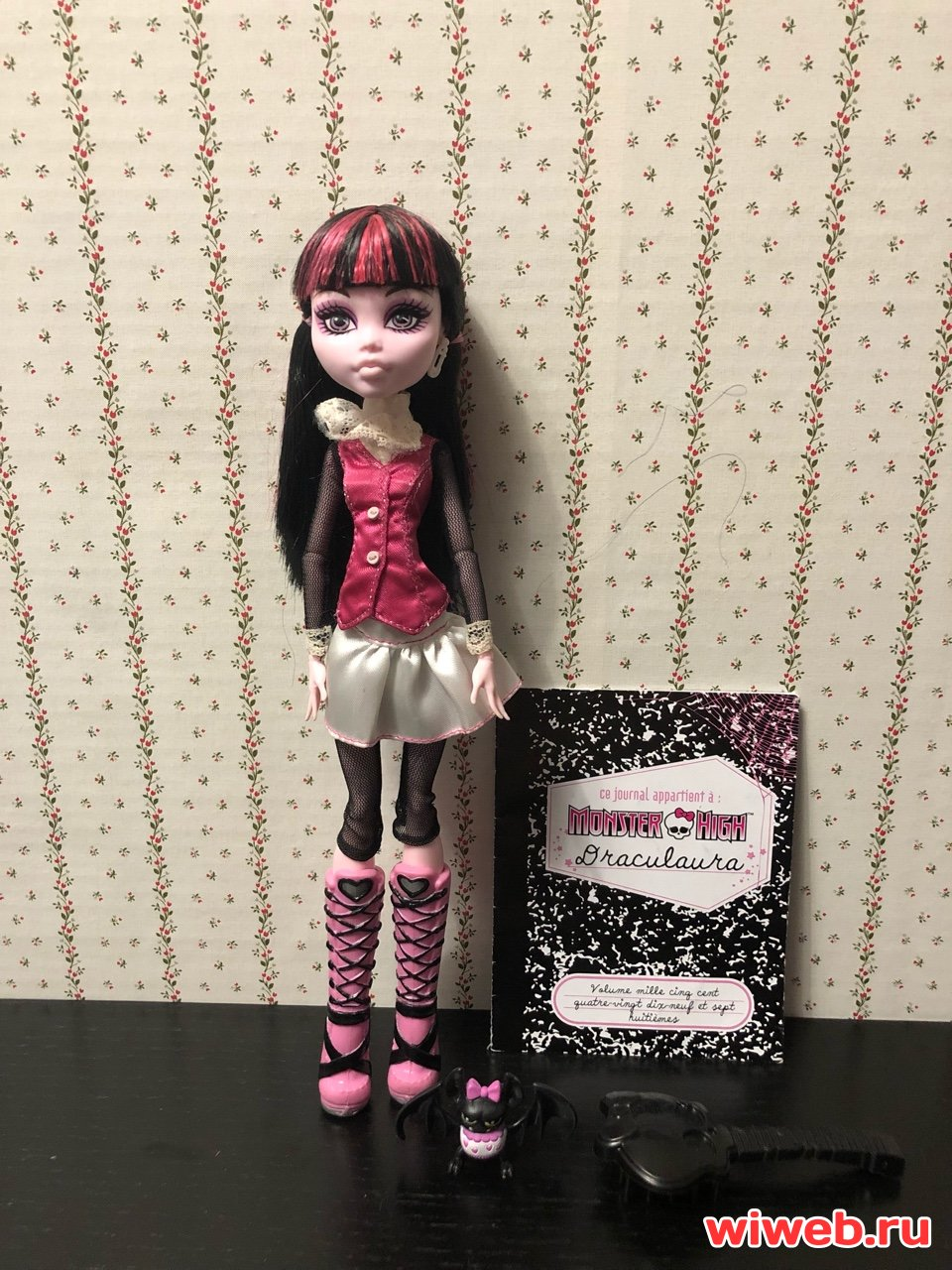 Куклы монстер хай, monster high doll Дракулаура базовая