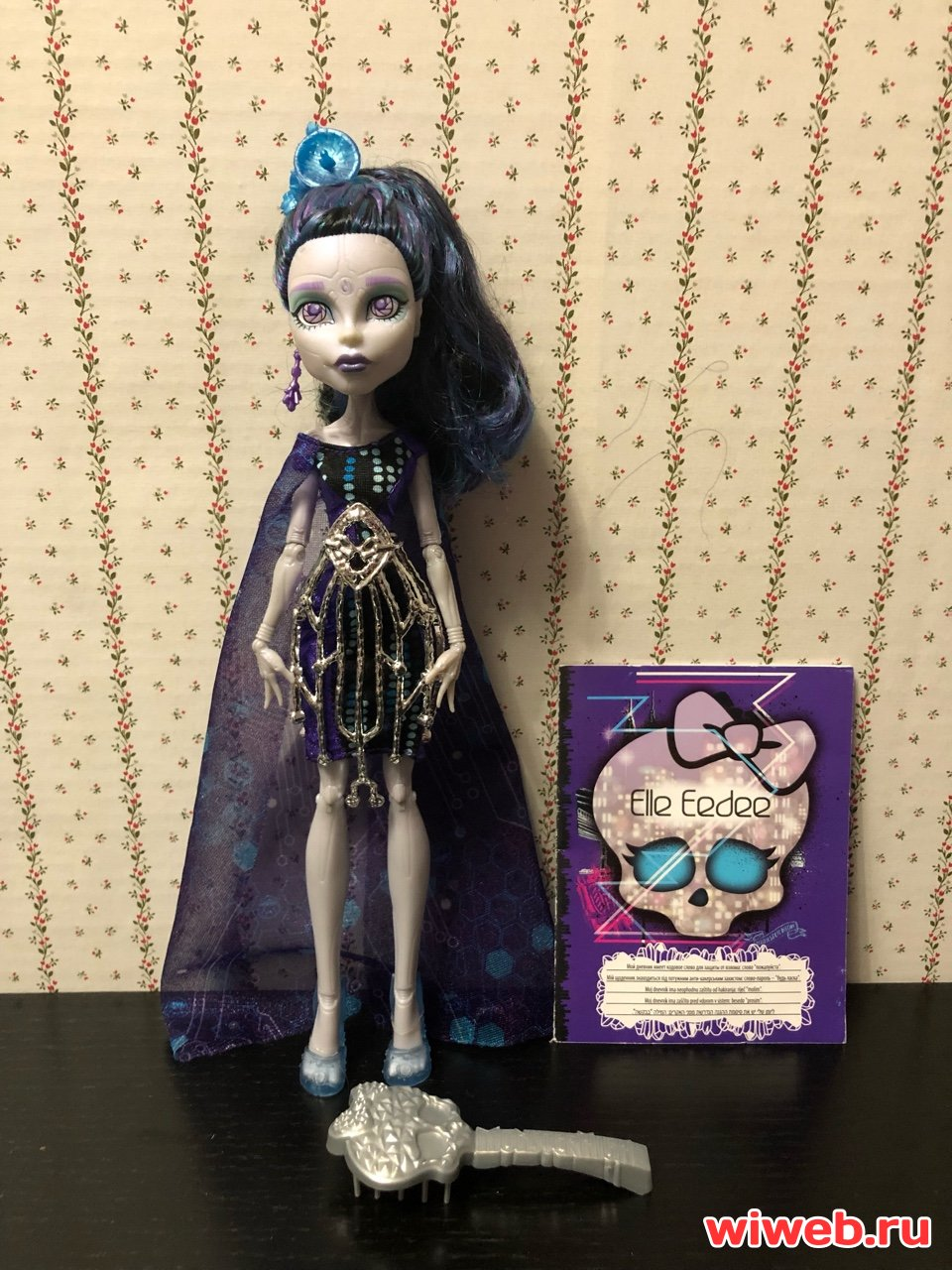 Куклы монстер хай, monster high doll Эль Иди