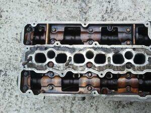 Головка блока цилиндров на Mitsubishi Pajero V45 6G74