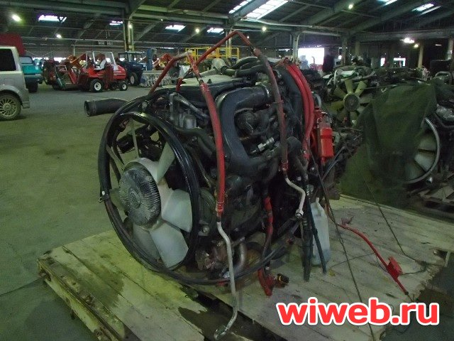 Двигатель ISUZU FORWARD FRR34L4 6HK1