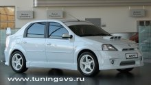 Комплект аэрообвесов Power DM RENAULT LOGAN