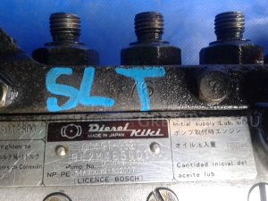 Тнвд на Mazda Titan WGL4T SLT 101491-9321 BOSCH