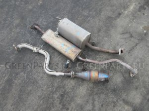 Глушитель на Nissan March AK12 CR12 2-MODEL SET с катализатором