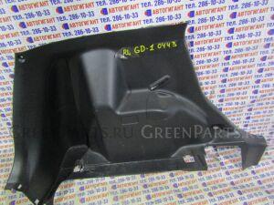 Обшивка багажника на Honda Fit GD1 L13A 1190443