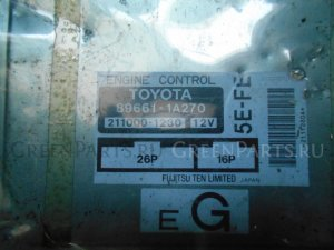 Блок управления двигателем на Toyota Corolla 5EFE