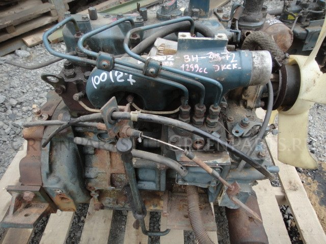 Двигатель в разборе d1302 Kubota
