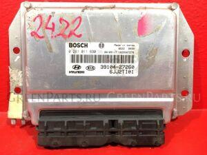 Блок управления двигателем на Hyundai Tucson JM D4EA2.0CRDI 3910427260