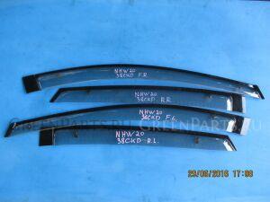 Ветровики комплект на Toyota Prius NHW20 1NZ-FXE