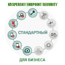 Право на использование Kaspersky Endpoint Security для бизнеса – Стандартный Russian Edition.