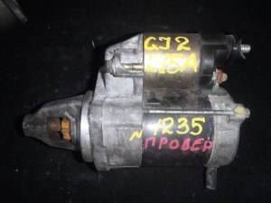 Стартер на Honda Airwave GJ1 L15A 1235 / 428000-0360