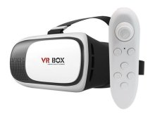 Очки виртуальной реальности VR box 3D Virtual Reality Glasses 2.0 + VR box Bluetooth Gamepad 2.0