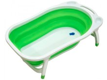 Ванночка складная Funkids Folding Smart Bath Green CC6600