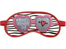 Маска для сна Ratel Happy Valentines Day Pink Glasses R3_88_065wt_082_AT140u_OS