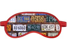 Маска для сна Ratel Travel License Plates R3_88_103wt_082_AT140u_OS