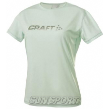 Craft  Футболка Craft Active Run Logo женская бриз