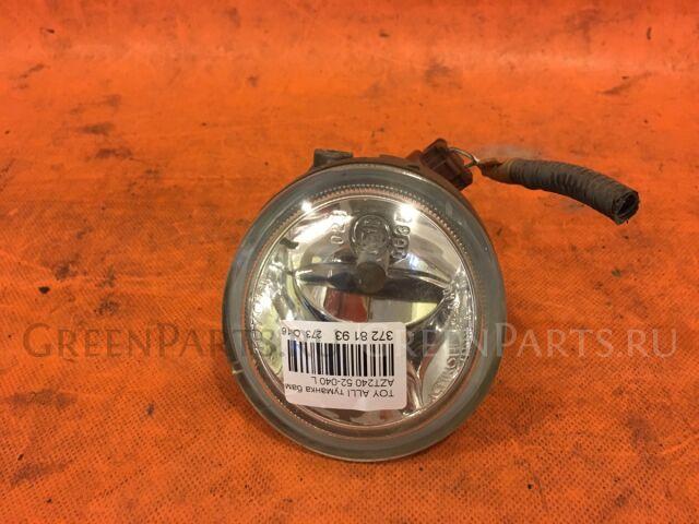 Туманка бамперная на Toyota Allion AZT240 52-040