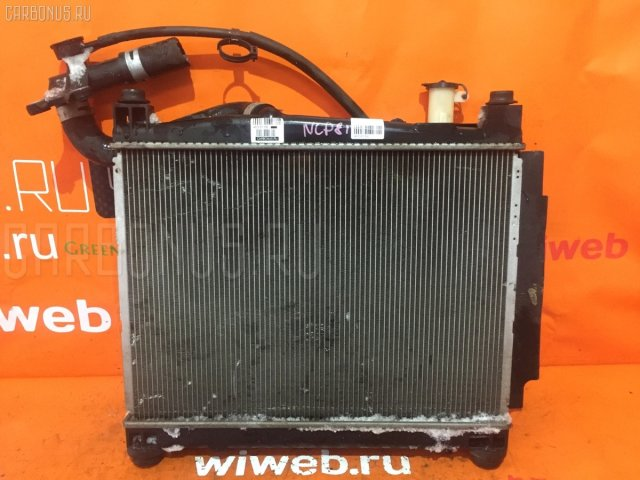 Радиатор двигателя на Toyota Sienta NCP81G 1NZ-FE