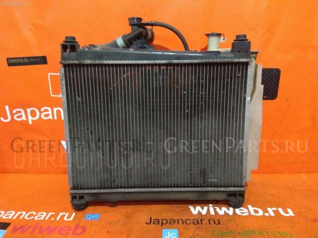 Радиатор двигателя на Toyota Vitz NCP10 2NZ-FE