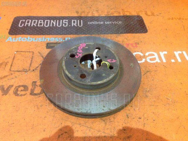 Тормозной диск на Toyota Vitz SCP90 2SZ-FE