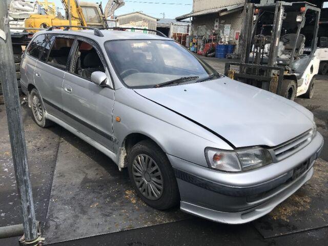 Компрессор кондиционера на Toyota Caldina ST191G 3S-FE