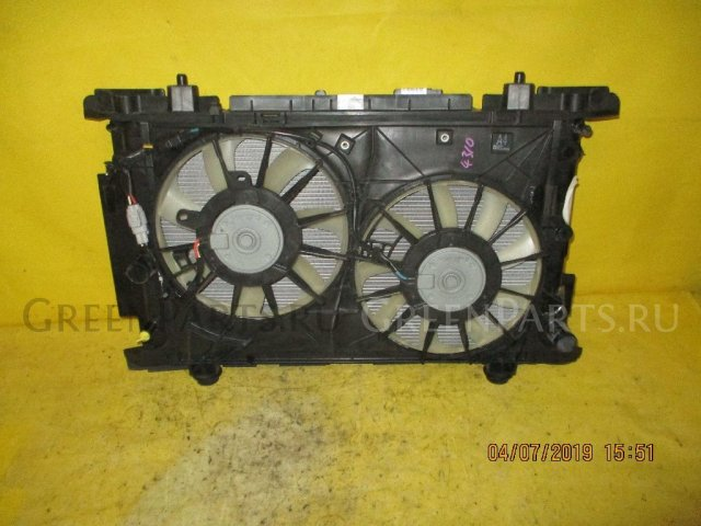 Радиатор двигателя на Toyota Mark X Zio ANA10 2AZ-FE