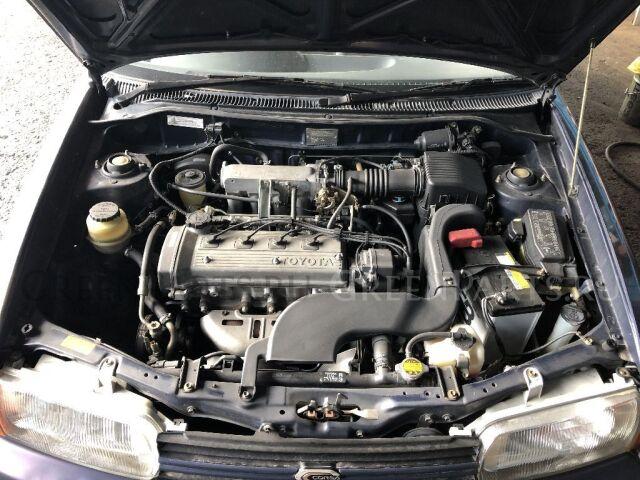 Патрубок радиатора двс на Toyota Tercel EL51, EL53, EL55 4E-FE, 5e-fe