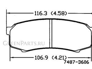 Тормозные колодки на Toyota Land Cruiser Prado GRJ150L 1GR-FE