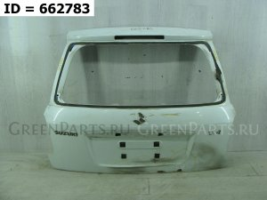 Дверь багажника на Suzuki SX4 I (Classic) Рест. (2009-2014) х/б 5 д