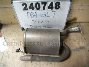 Глушитель на Honda Fit GE7 L13A