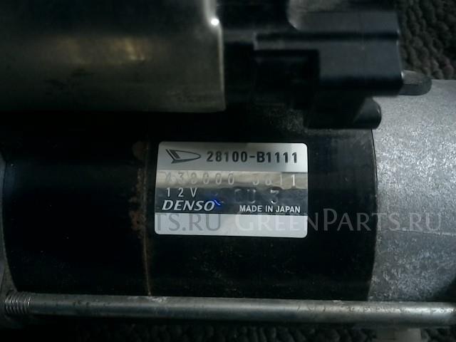 Стартер на Toyota TANK M910A 1KR-FE