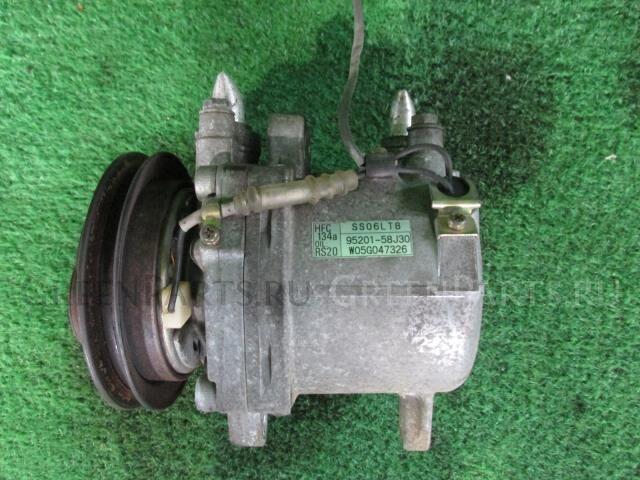 Компрессор кондиционера на Suzuki Kei HN22S K6A