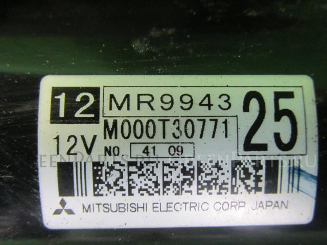 Стартер на MMC;MITSUBISHI Colt Z27A 4G15