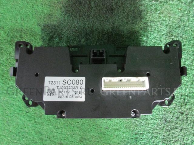 Блок управления климатконтроля на Subaru Impreza GH7 EJ203