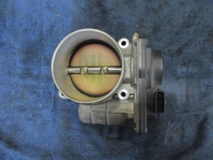 Дроссельная заслонка на Nissan Fuga GY50 VK45DE