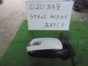 Зеркало двери боковой на Toyota Ractis NCP105 1NZ-FE