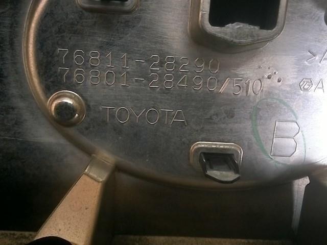 Стоп-планка на Toyota Voxy ZRR85G 3ZR-FAE