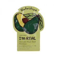 Tony Moly Тканевая маска с экстрактом авокадо I'm Real Avocado Mask Sheet Tony Moly, 21 мл