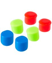 Беруши Youth Multi-Colored Silicone Ear Plugs, LEPY/970, мультиколор
