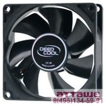 Case fan Deepcool XFAN 60 60x60x12 3pin+4pin (molex) 24dB 30g RTL [DP-FDC-XF60]