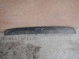 Накладка на бампер на Peugeot 207